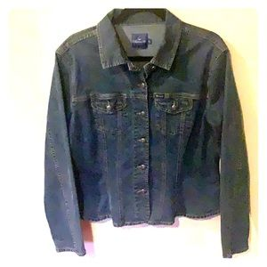 Faconnable heavy denim shirt